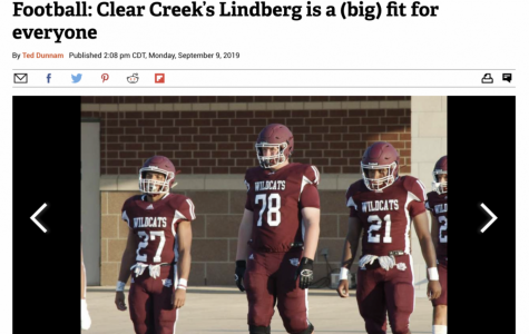 Houston Chronicle/Channel 39 story about Wildcat Lindberg