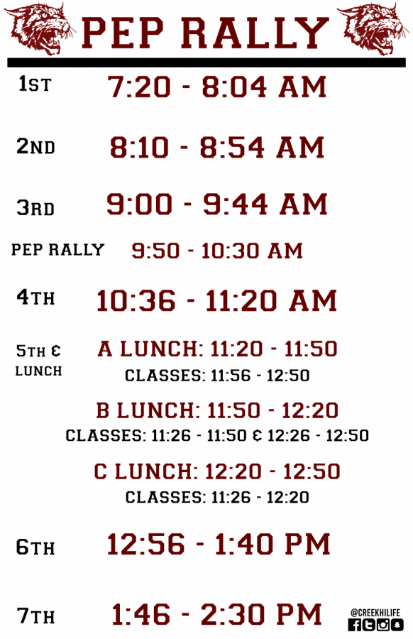 Pep+rally+schedule+2019-2020