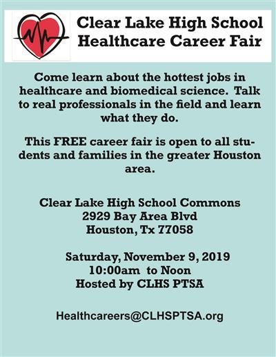 Clear Lake HS Healthcare Career Fair