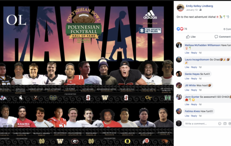 Lindberg in the Polynesian Bowl and madeHouston Chronicle All-Greater Houston team