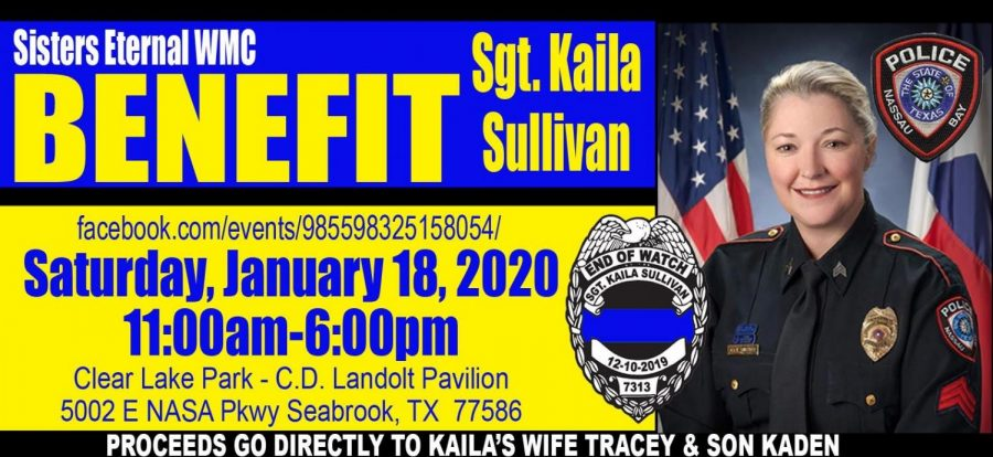 Benefit for local fallen officer-Kaila Sullivan