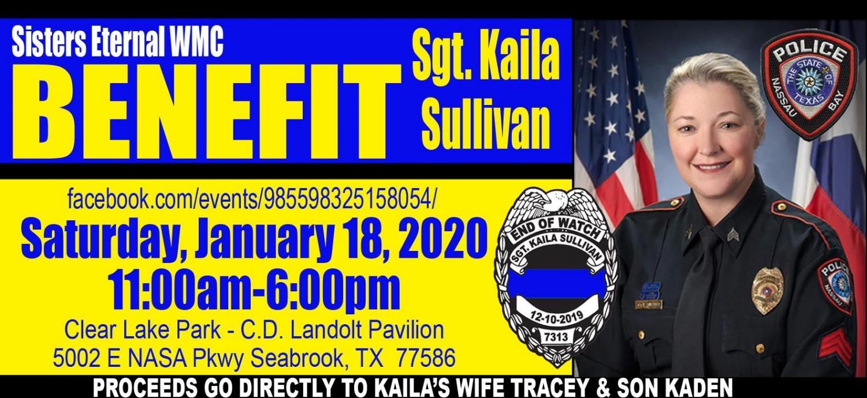 Benefit for local fallen officer-Kaila Sullivan