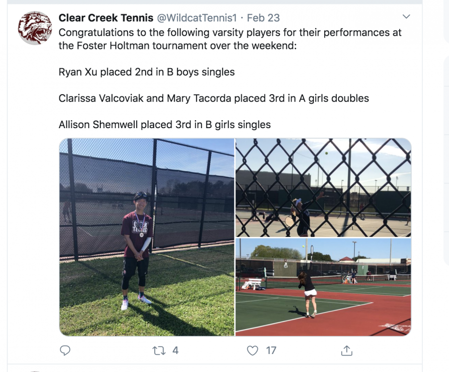 Creek tennis