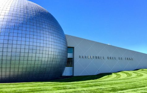Naismith Memorial Basketball Hall of Fame located in Springfield, Massachusetts.