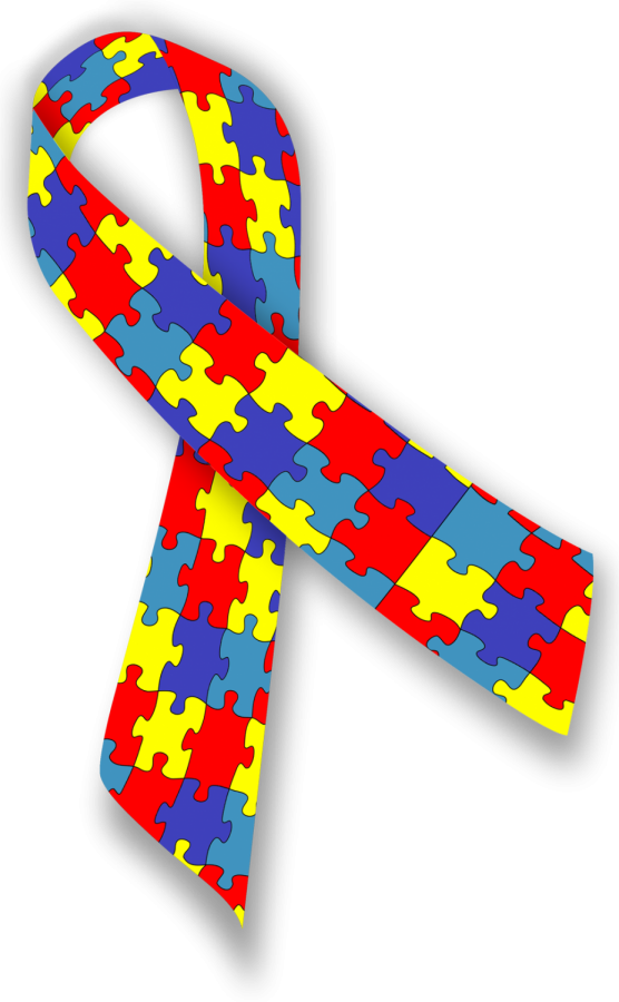 Symbol for Autism Awareness Month, which takes place in April