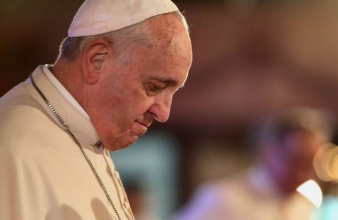 Pope Francis, who conducted a Palm Sunday Mass virtually due to the coronavirus pandemic