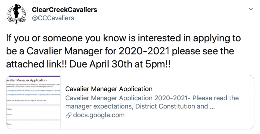 Cavalier+Manager+Application