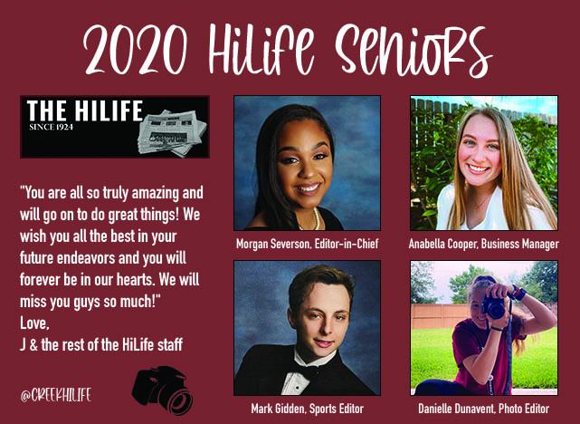 2020 HiLife seniors recognition