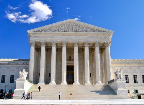 The Supreme Court, which is now holding virtual court hearings for the first time in history.