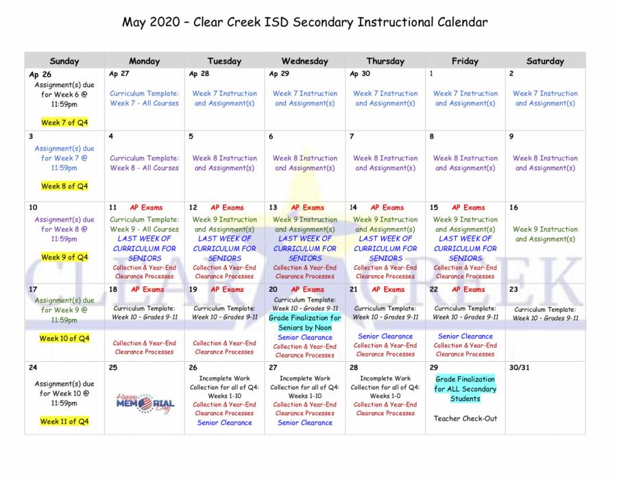 CCISD+May+2020+calendar