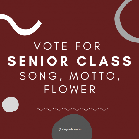 Vote for senior class song, motto, & flower