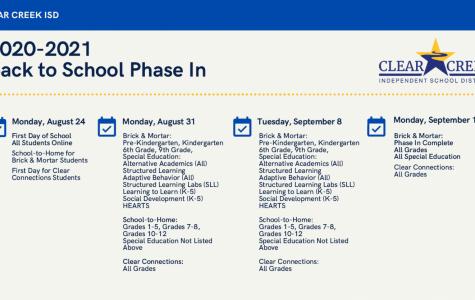 UPDATE:School start dates for online and in school
